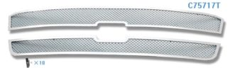Mesh Grille 2003-2004 Chevy Silverado Main Upper Chrome
