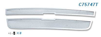 Mesh Grille 2004-2012 Chevy Colorado Main Upper Chrome Not For Extreme