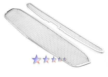 Mesh Grille 2015-2015 Chevy Cruze  Main Upper Chrome