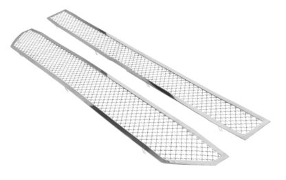 Mesh Grille 2016-2018 Chevy Silverado  Main Upper Chrome Not For Z71 and High Country Model