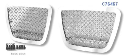 Mesh Grille 2007-2014 Chevy Avalanche  Tow Hook Chrome Not For Z71 Model
