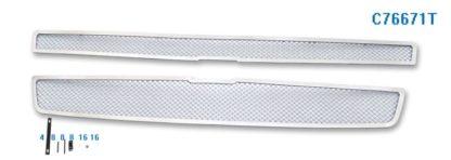 Mesh Grille 2009-2013 Chevy Tahoe Hybrid Main Upper Chrome