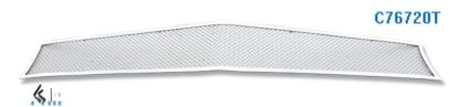 Mesh Grille 2010-2013 Chevy Camaro SS Main Upper Chrome Long