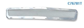Mesh Grille 2008-2012 Chevy Malibu Lower Bumper Chrome