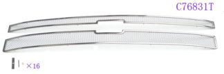 Mesh Grille 2011-2014 Chevy Silverado  Main Upper Chrome