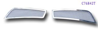 Mesh Grille 2011-2014 Chevy Cruze  Fog light Chrome (Without Foglight)