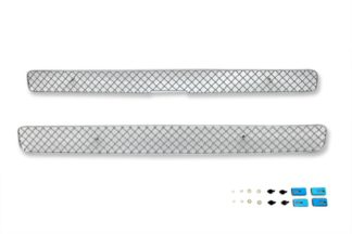 X Mesh Grille 1998-2004 Chevy S10 Main Upper Chrome Criss Cross