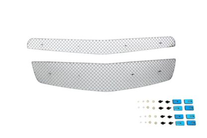 X Mesh Grille 2010-2015 Chevy Equinox  Main Upper Chrome (2012-2015 Model Need Drilling)