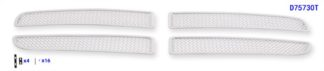 Mesh Grille 1997-2003 Dodge Durango  Main Upper Chrome