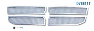 Mesh Grille 2008-2011 Dodge Dakota  Main Upper Chrome