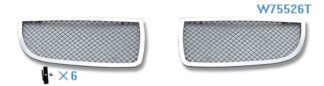 Mesh Grille 2006-2007 BMW 3-Series  Main Upper Chrome