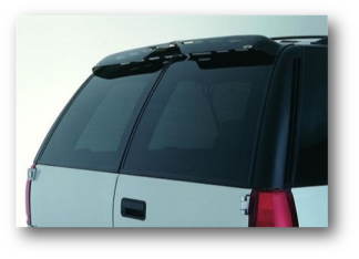 GT Styling Aerowing Rear Window Deflector