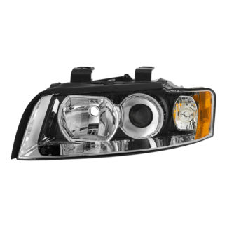 ( OE ) Audi A4 02-05 (Halogen Only Does not fit HID models also does not fit cabriolet convertible model) Driver Side Headlights -OEM Left