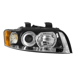 ( OE ) Audi A4 02-05 (Halogen Only Does not fit HID models  also does not fit cabriolet convertible model) Passenger Side HeadLights -OEM Right