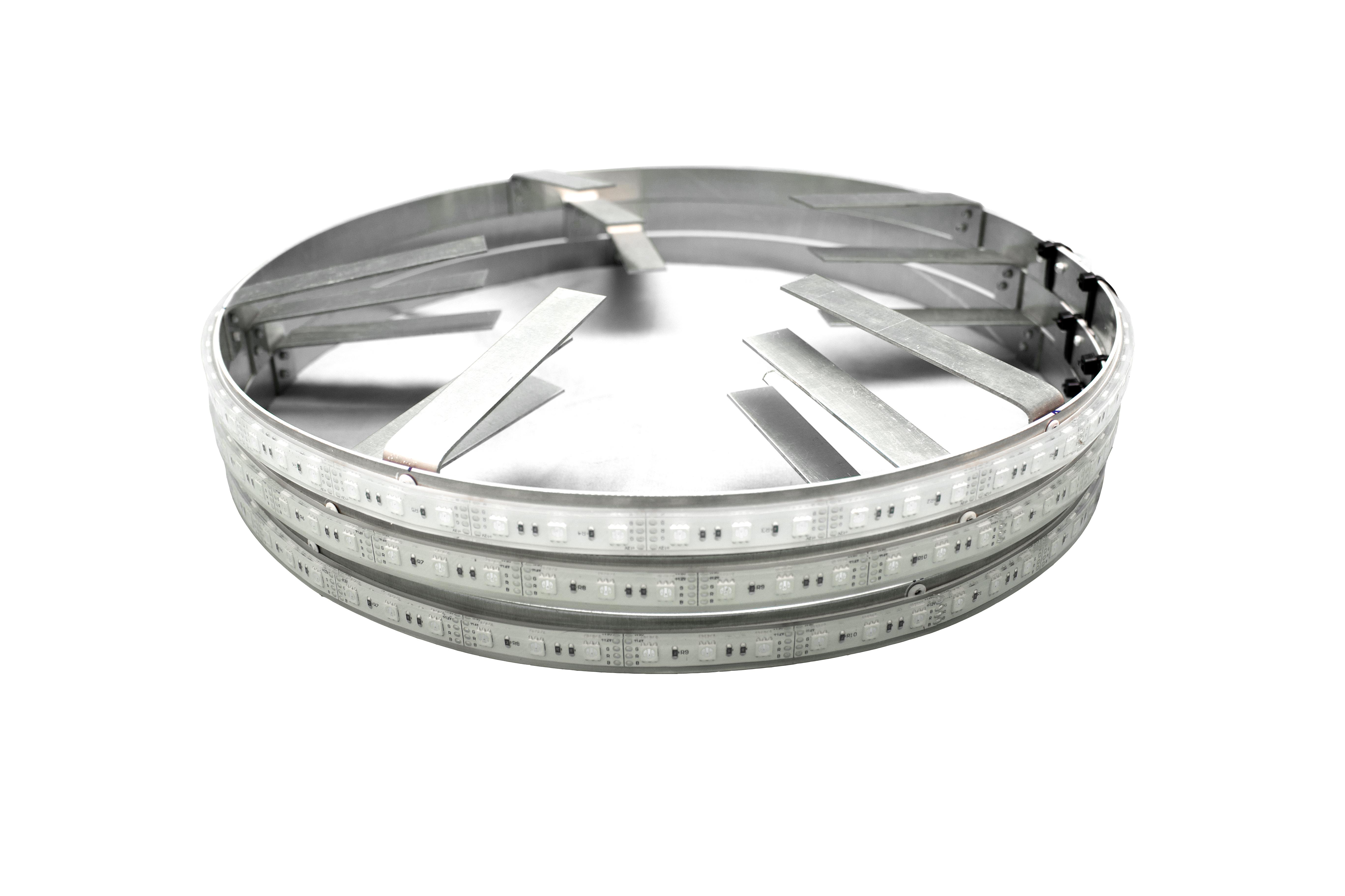 LED Cup Holder Light Insert Fits 2008-2012 Honda Accord Custom White LEDs