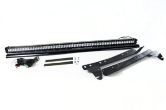 07-17 4WD Jeep JK Wrangler Stealth Series Complete Light Bar Kit - Life Time Warranty - Kit comes with bar