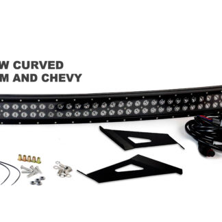 2014-2017 Chevy and GMC Blacked Out Series Complete LED Light Bar Kit - RS-L45-312W