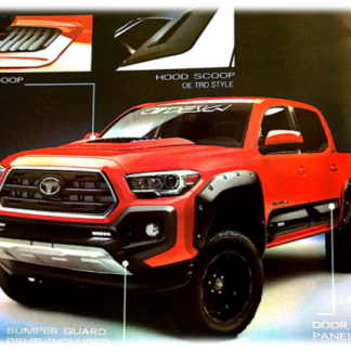 Toyota Air Design Off-Road & Street Series Ground Effects