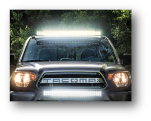 Blacked Out Steatlh Series Light Bars