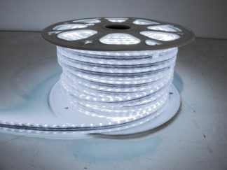 110V Atmosphere Waterproof 5050 LED Strip Lighting (Cool White) - RS-5050-164FT-CW
