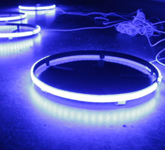 ColorCLEAR 17in LED Wheel Kit (Blue) - Complete kit for (4) Wheels - RS17B_a6