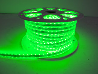 110V Atmosphere Waterproof 5050 LED Strip Lighting (Green) - RS-5050-164FT-G
