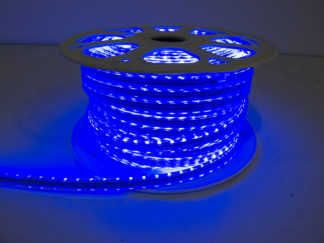 110V Atmosphere Waterproof 5050 LED Strip Lighting (Blue) - RS-5050-164FT-B