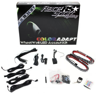 Color ADAPT® Adaptive RGB LED Wheel Well Kit - RSWWKIT