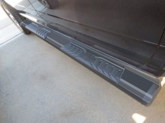 Running Board - S Series Cab Length OE Style; 2010-2018 Dodge Ram Crew Cab (Black)