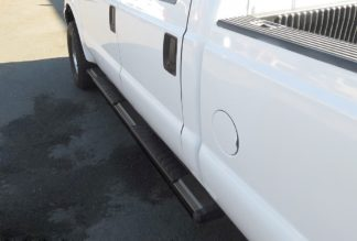 Running Board - S Series Cab Length OE Style; 1999-2016 Ford F550 | Superduty Crew Cab (Black)