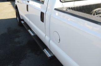 Running Board - S Series Cab Length OE Style; 1999-2016 Ford F550 | Superduty Crew Cab (SILVER)