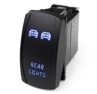 LED Rocker Switch w/ Blue LED Radiance (Rear Lights) - RSLJ60B