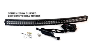 2007-2014 Toyota Tundra Blacked Out Series Complete LED Light Bar Kit - RS-L35-288W
