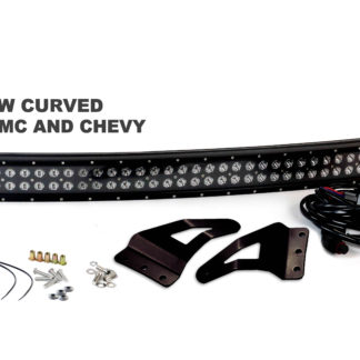 2007-2013 Chevy and GMC Blacked Out Series Complete LED Light Bar Kit - RS-L48-312W