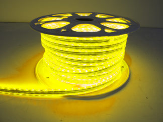 110V Atmosphere Waterproof 5050 LED Strip Lighting (Yellow) - RS-5050-164FT-Y