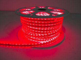 110V Atmosphere Waterproof 5050 LED Strip Lighting (Red) - RS-5050-164FT-R
