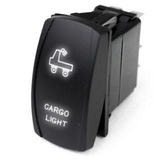 LED Rocker Switch w/ White LED Radiance (Cargo Light) - RSLJ68W