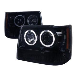 93-96 Jeep Cherokee Projector HeadLights
