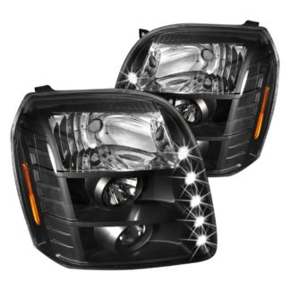 07-10 GMC Yukon Halo LED Projector Black