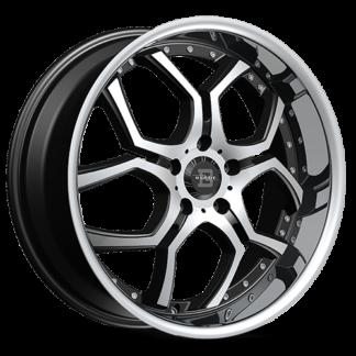Blade RT Series One Piece Cast Aluminum Wheel; Model SL-477 Lazaro
