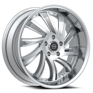Blade RT Series One Piece Cast Aluminum Wheel; Model SL-476 Sliced