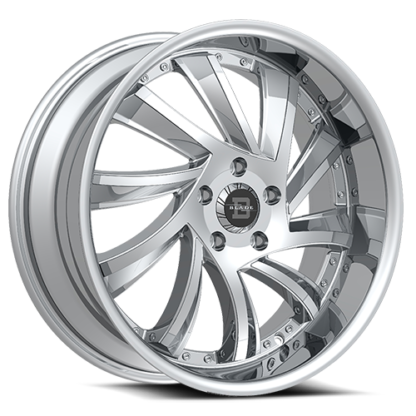 Blade RT Series One Piece Cast Aluminum Wheel; Model SL-476 Sliced