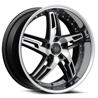 Blade RT Series One Piece Cast Aluminum Wheel; Model SL-475 Marcello