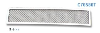 Mesh Grille 2003-2007 Hummer H2  Lower Bumper Chrome