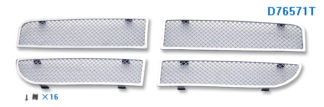 Mesh Grille 2008-2008 Dodge Magnum  Main Upper Chrome Except SRT8