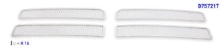 Mesh Grille 1994-2001 Dodge Ram  Main Upper Chrome Not For Sport