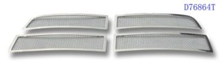 Mesh Grille 2010-2012 Dodge Ram  Main Upper Chrome Not For Laramie Package