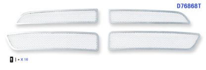 Mesh Grille 2011-2013 Dodge Durango Main Upper Chrome