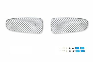 X Mesh Grille 2002-2006 Jaguar X-Type  Main Upper Chrome
