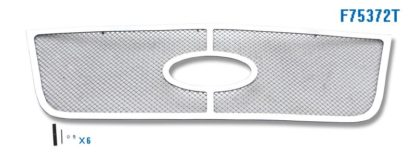 Mesh Grille 2003-2006 Ford Expedition  Main Upper Chrome With Logo Show